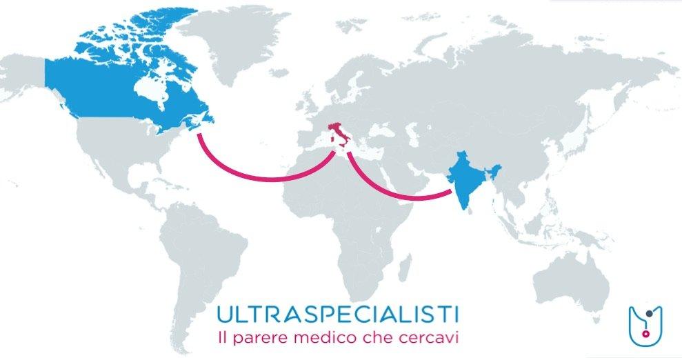Ultraspecialisti Telemedicina Canada India Italia
