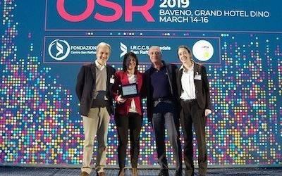 La dr.ssa Gregorc premiata dall'Ospedale San Raffaele