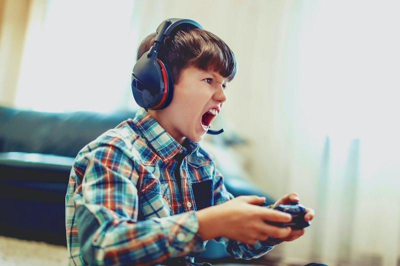 Agressività bambini videogiochi